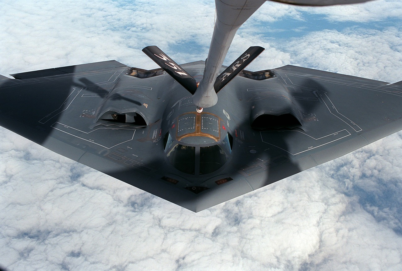 aircraft, delta wing, stealth bomber