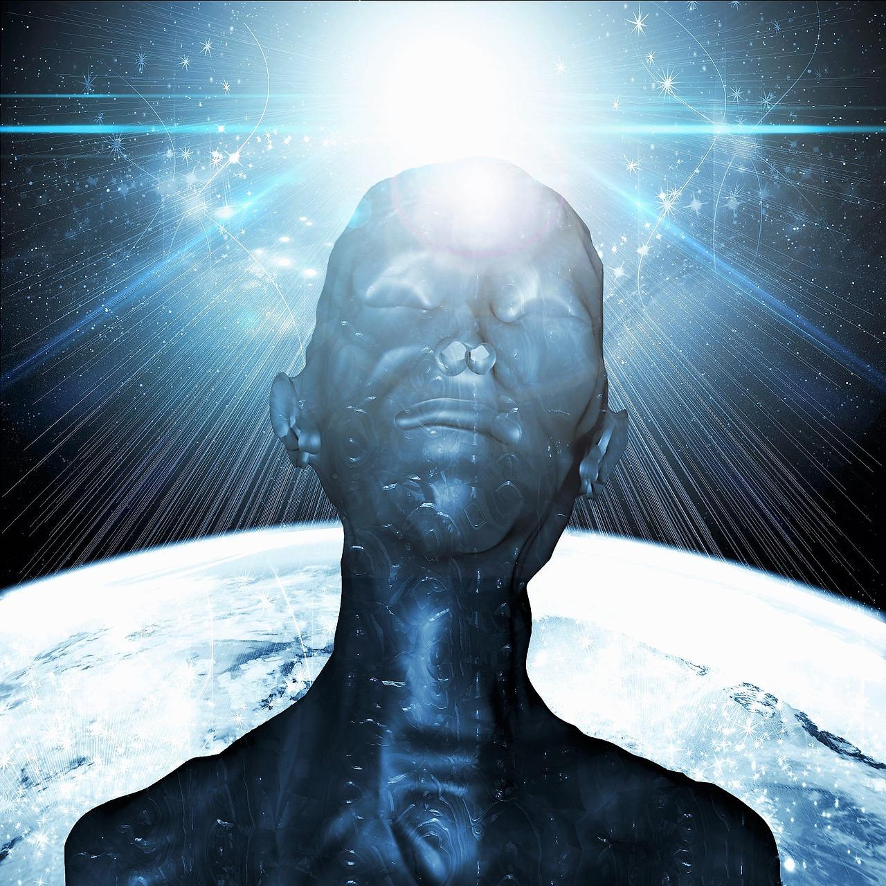 alien, light, atmosphere