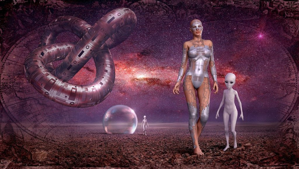 fantasy, space, galaxy