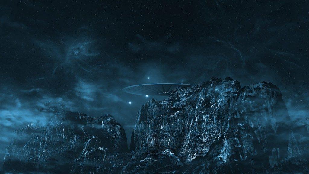 ufo, cosmos, universe