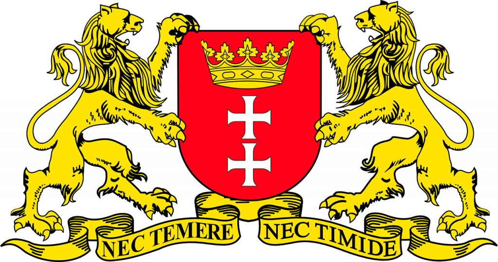 coat of arms, crest, helmet plate