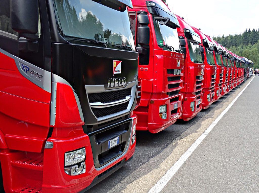 formula 1, truck, red