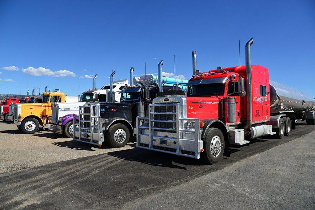 truck, semi trailers, usa