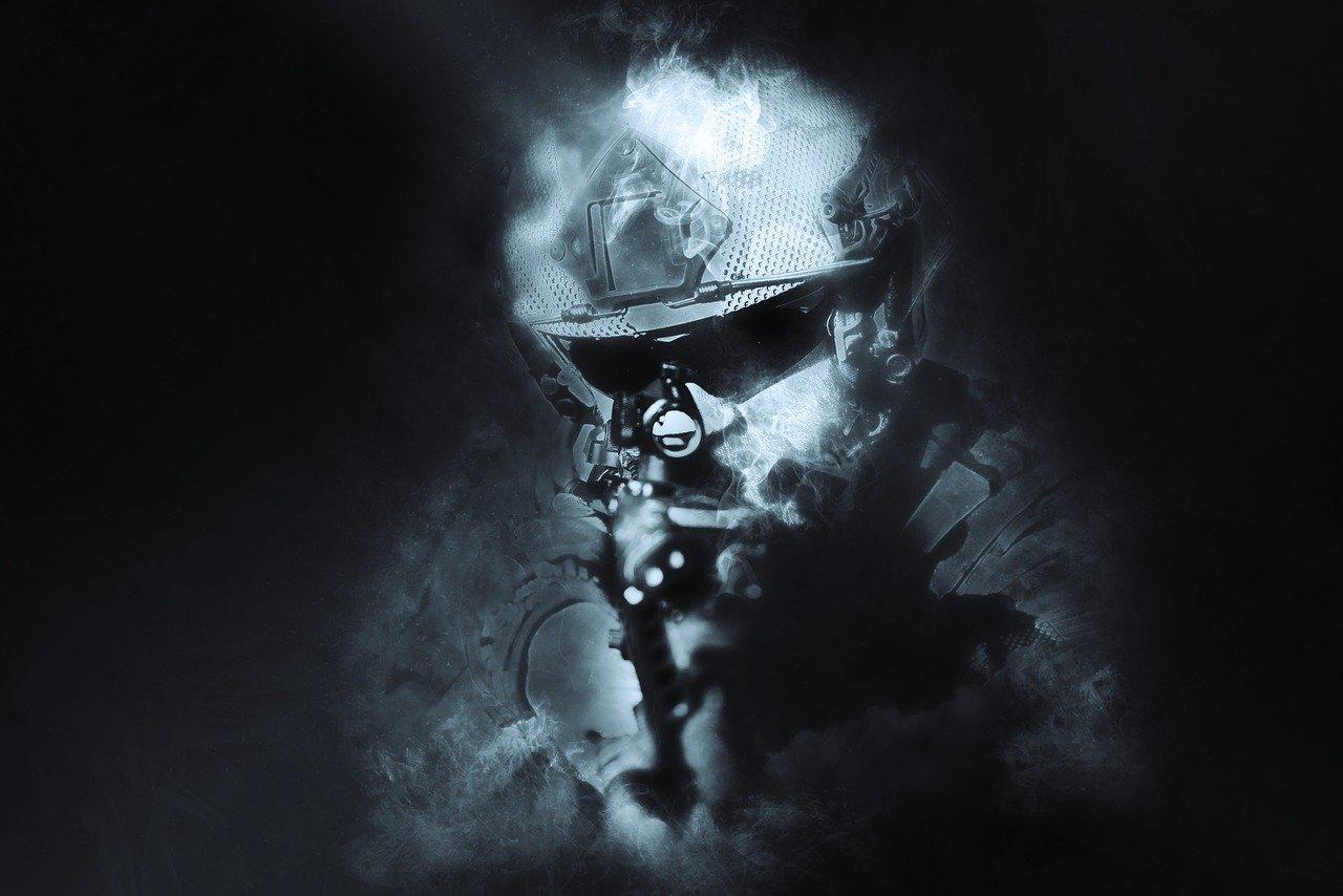 soldier, war, military