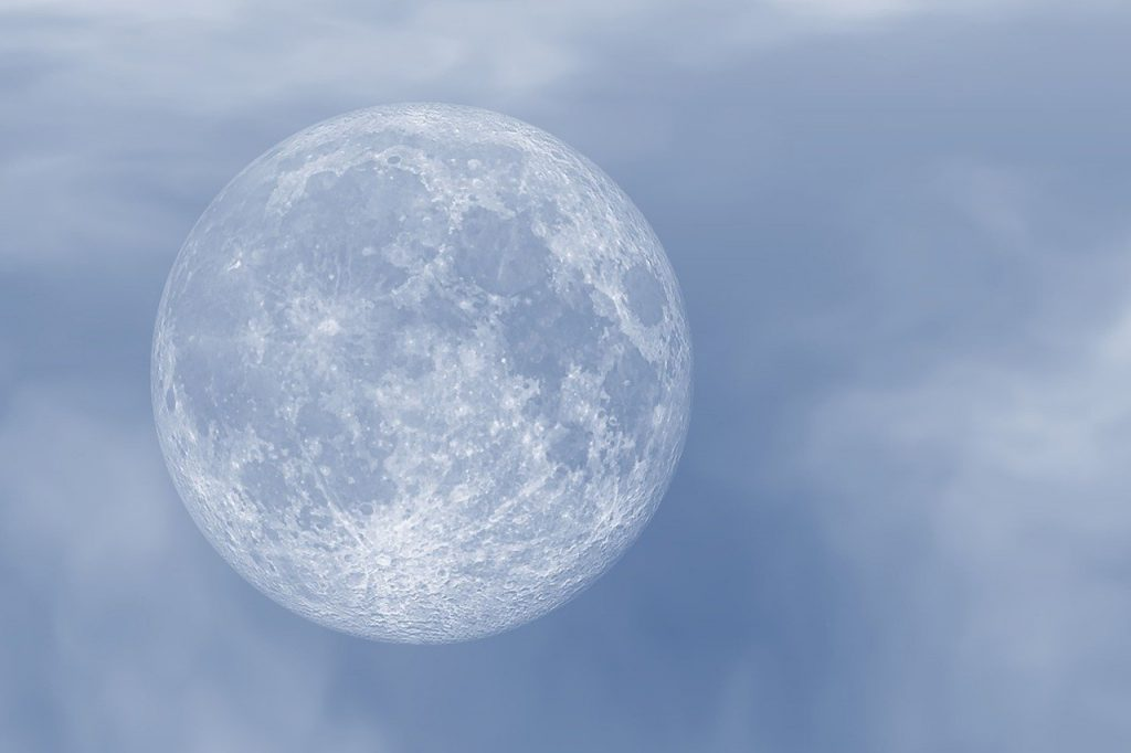 moon, sky, full moon